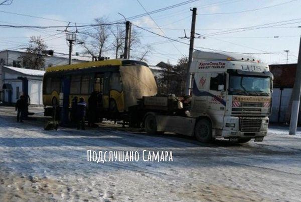 В Самару доехал первый электробус, которого горожане ждали с конца 2019 года | CityTraffic