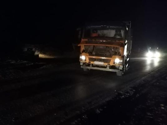 На автодороге Тольятти-Ягодное водитель самосвала сбил пешехода | CityTraffic