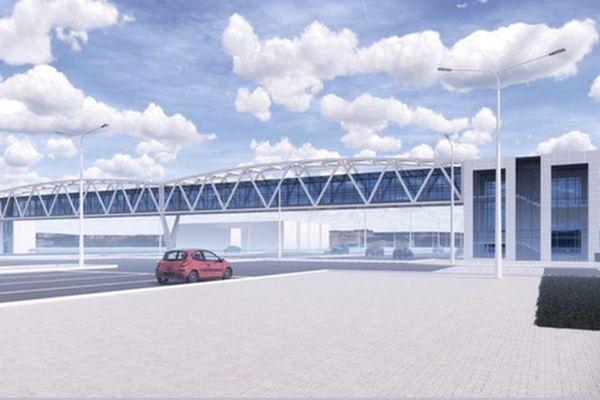 Появились эскизы надземного пешеходного перехода на Московском шоссе в Самаре | CityTraffic