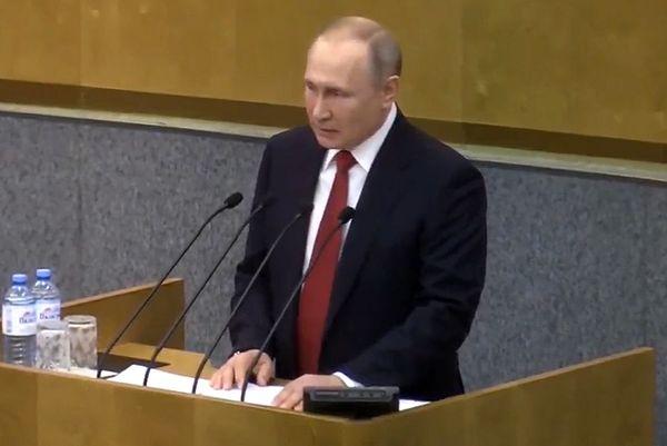 Владимир Путин не видит необходимости в проведении досрочных выборов в Госдуму   CityTraffic
