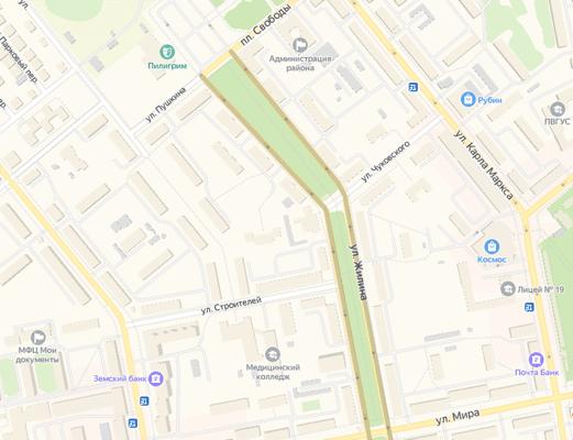 В Тольятти ищут подрядчика, который за 10,9 млн рублей отремонтирует сквер на улице Жилина к 1 мая | CityTraffic