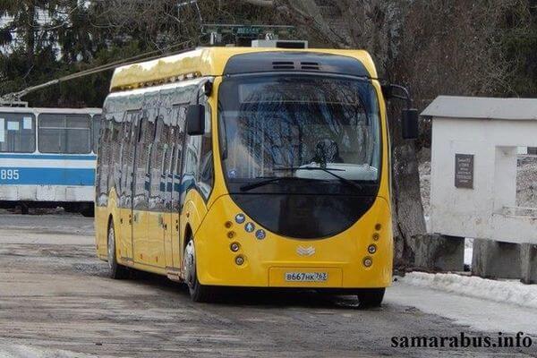 На улицы Самары вернулся электробус | CityTraffic