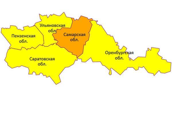 Погода в Самарской области не исключает вероятности стихийных бедствий | CityTraffic