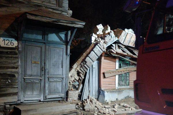 СК возбудил уголовное дело по факту халатности чиновников из-за обрушения стены жилого дома в Самаре | CityTraffic