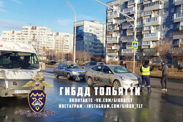 В Тольятти утром таксист сбил подростка, идущего в школу | CityTraffic