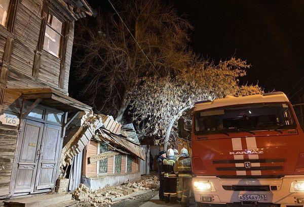 После обрушения стены дома в Самаре под наблюдением врачей находятся три человека, включая детей | CityTraffic