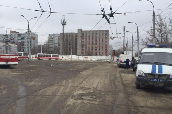 "В Самаре ФСБ освободила ""заложников"" на территории троллейбусного депо № 3 | CityTraffic"