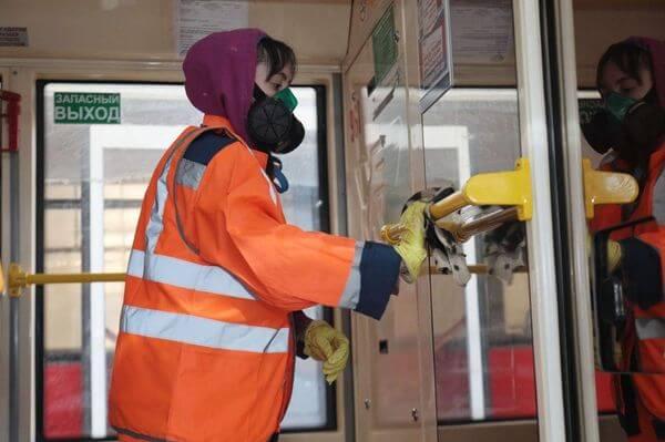 В ТТУ Самары рассказали, как дезинфицируют трамваи и троллейбусы  из-за коронавируса | CityTraffic