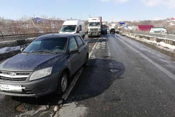 В столкновении 6 автомобилей под Самарой пострадали 2 человека | CityTraffic