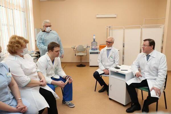Врачи Тольятти рассказали главе Самарской области, насколько серьезна угроза коронавируса   CityTraffic