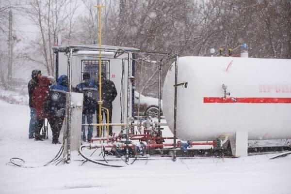В Самаре одна из газовых заправок погрузилась во тьму | CityTraffic