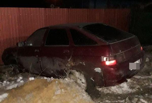 В Чапаевске легковушка насмерть сбила пенсионерку и протаранила забор | CityTraffic
