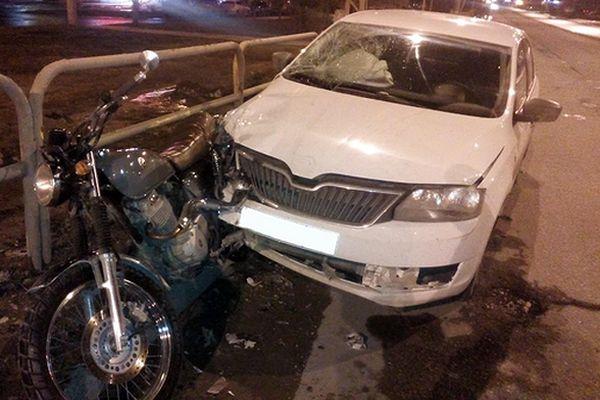 На дорогах Тольятти за сутки пострадали парень на мотоцикле и подросток, переходивший дорогу | CityTraffic