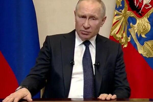 Владимир Путин объявил, что из-за коронавируса следующая неделя будет нерабочей | CityTraffic