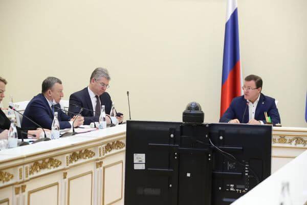 Глава Самарской области возглавил оперштаб по противодействию коронавирусу | CityTraffic