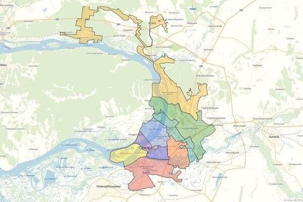 В 2020 году на описание границ муниципальных образований Самарской области потратят 45 млн рублей | CityTraffic