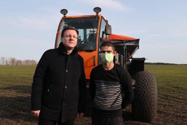 Ранняя весна не повлияла на ход полевых работ в Самарской области | CityTraffic