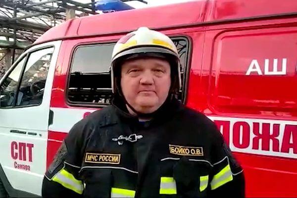Пожарные через 3 часа потушили огонь в цехе по производству этанола на предприятии Новокуйбышевска | CityTraffic