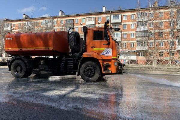 В Самаре планируют дезинфицировать улицы круглосуточно, как только позволит погода | CityTraffic