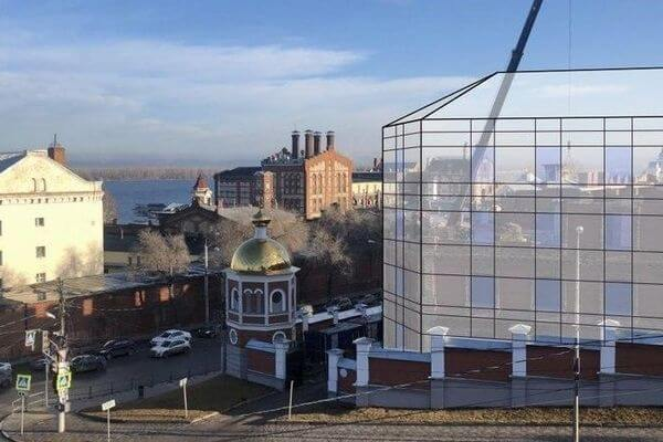 В Самаре горожане обеспокоены строительством сестринского корпуса  на территории Иверского монастыря   CityTraffic