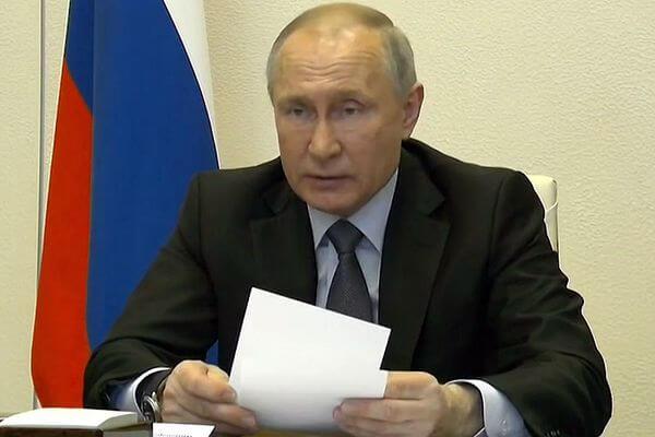 Владимир Путин заявил, что на борьбу с коронавирусом могут привлечь ресурсы Минобороны   CityTraffic