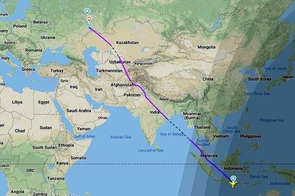 В Самару утром в воскресенье прилетел рейс с острова Бали, в понедельник ожидается борт из Бангкока | CityTraffic