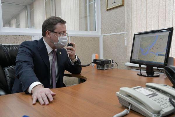 Губернатор Самарской области поздравил медиков Скорой помощи | CityTraffic