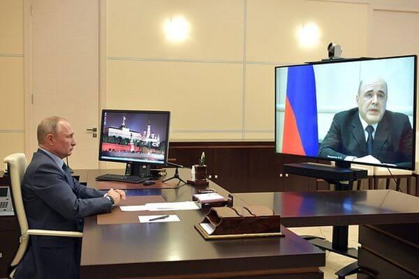 Глава правительства РФ заразился коронавирусом ивременно сложил ссебя полномочия