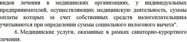 Правительство РФ обновило перечень медуслуг, за которые можно получить налоговый вычет | CityTraffic