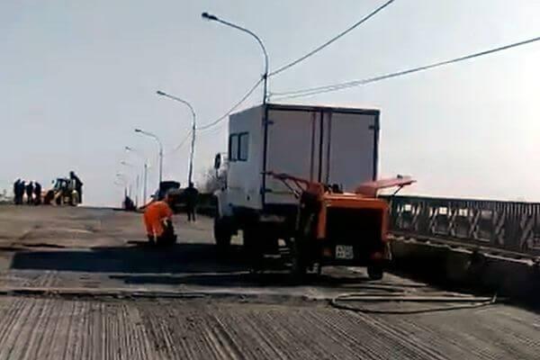 В Самаре начали ремонтировать Смышляевский мост: видео | CityTraffic