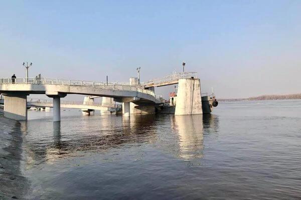 В Самаре Волга подтопила причалы на Речном вокзале | CityTraffic