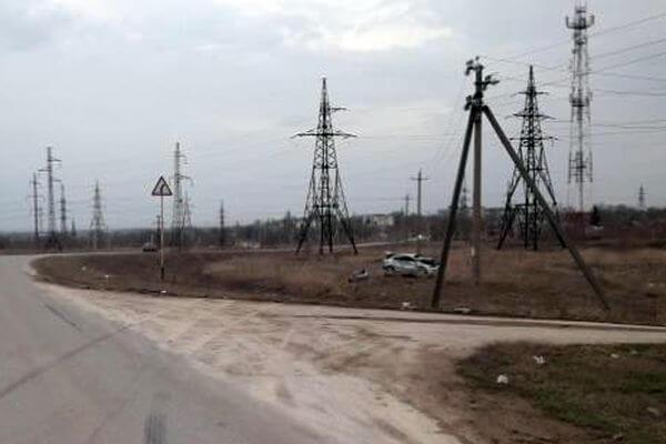 """В Самарской области перевернулся """"Митсубиси"""", водитель попал в больницу   CityTraffic"""