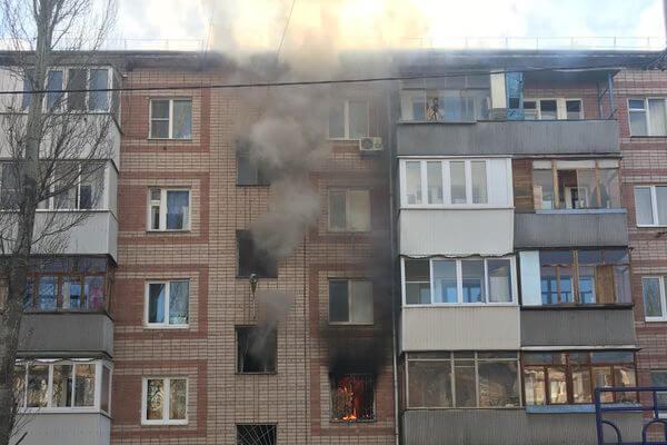 Три человека пострадали на пожаре в Самаре 1 апреля   CityTraffic