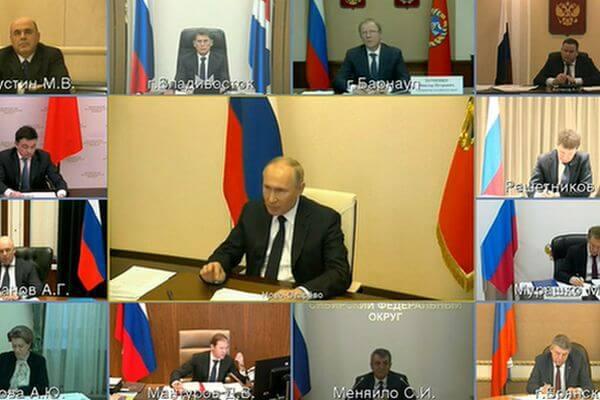 Владимир Путин объявил о том, что 3 месяца государство будет доплачивать медикам и дополнительно - безработным родителям с маленькими детьми | CityTraffic
