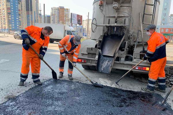 Самаре приступили к ямочному ремонту улиц | CityTraffic