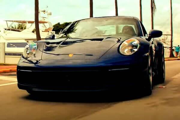 Видео с крутой тачкой и плохими парнями показала компания Porsche   CityTraffic
