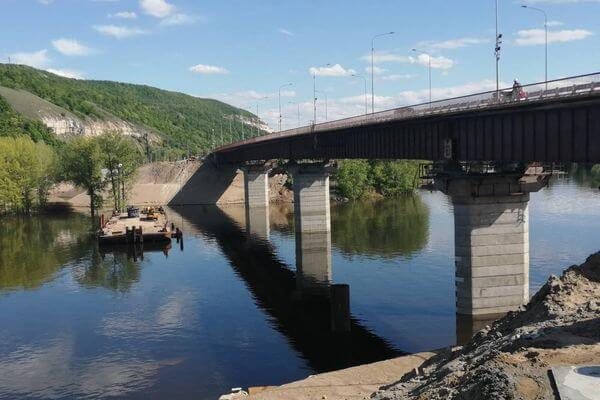 Мост через реку Сок в Самарской области могут достроить уже в 2021 году вместо 2022 | CityTraffic