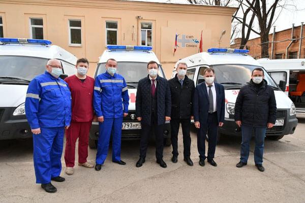 Автопарк Самарской станции скорой помощи пополнили 67 новых автомобилей   CityTraffic