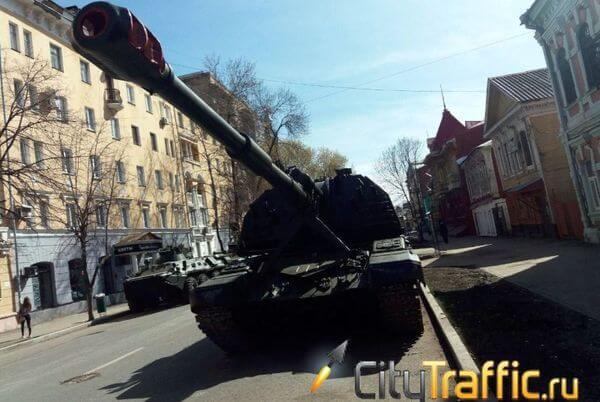 В Самаре приступили к дезинфекции техники, которую задействуют на параде 24 июня | CityTraffic