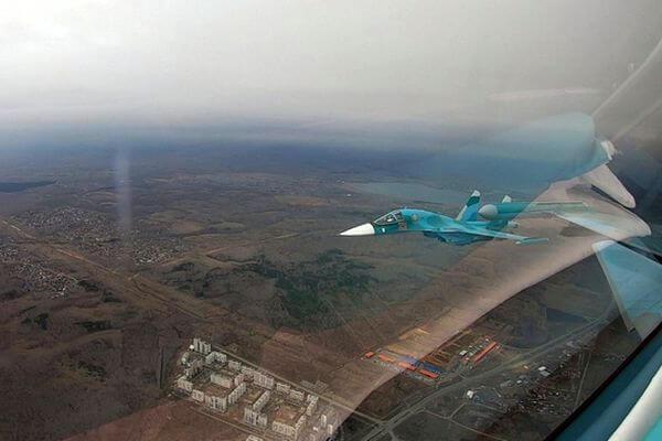 Фронтовые бомбардировщики и сверхзвуковые истребители проведут тренировку пролета в небе над Самарой | CityTraffic