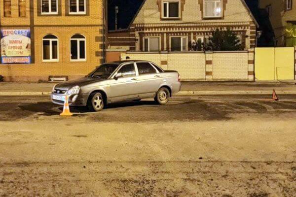 В Сызрани мотоциклист попал под автомобиль на перекрестке | CityTraffic