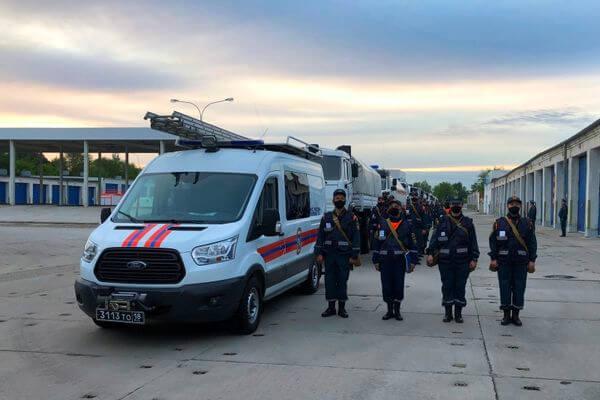 Военные химики из Самары отправились дезинфицировать здания и улицы Дагестана | CityTraffic