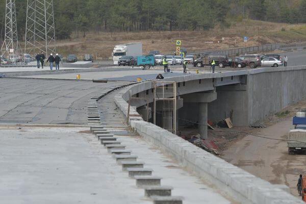 Строительство развязки на трассе М-5 в Тольятти завершат в августе 2020 года | CityTraffic