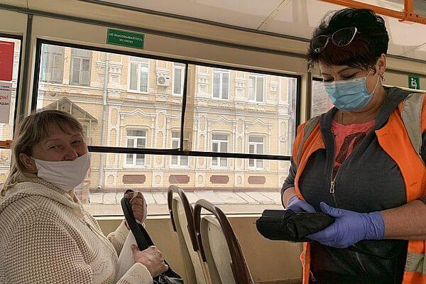 За ношением  масок в транспорте  Самары проследят народные дружинники | CityTraffic