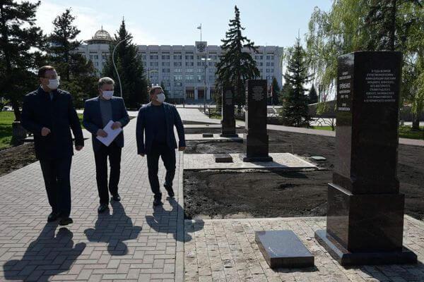 К 9 мая в Самаре на площади Славы появится Аллея маршалов | CityTraffic