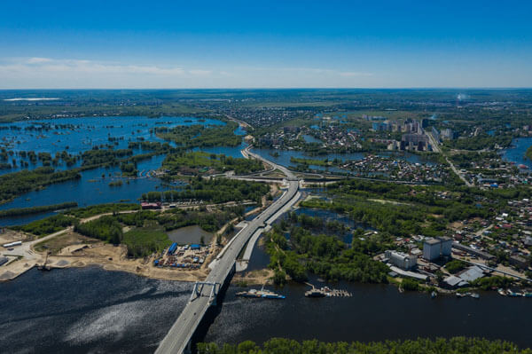 На второй этап строительства Самарского моста потратят более 8 млрд рублей | CityTraffic