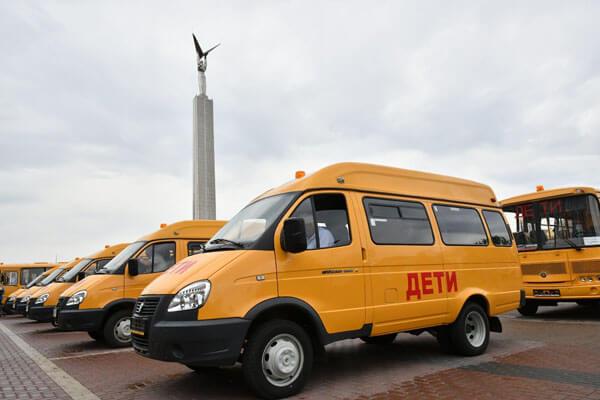 Сельские школы Самарской области получили 35 новых автобусов | CityTraffic