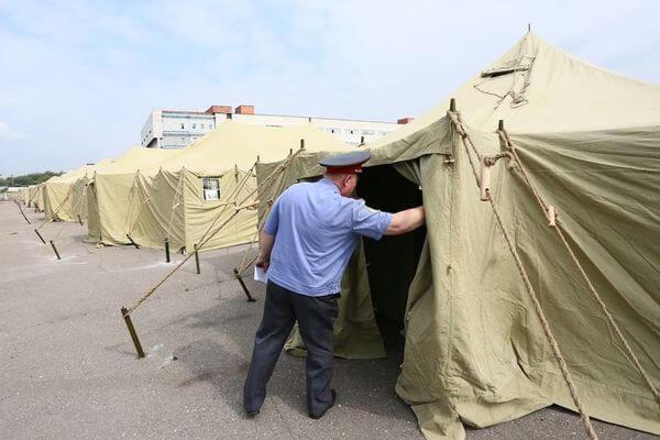 Прибывших  в Самарскую область иностранцев изолируют в палаточном городке | CityTraffic