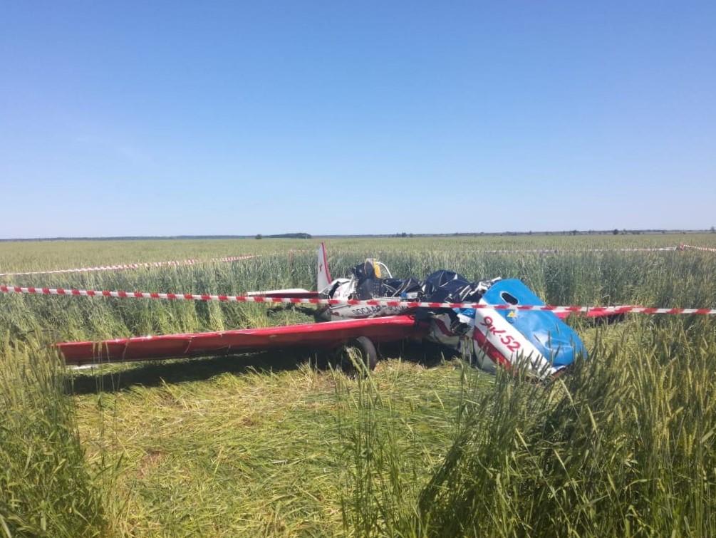 В Самарской области разбился легкомоторный самолет, погибли 2 человека | CityTraffic