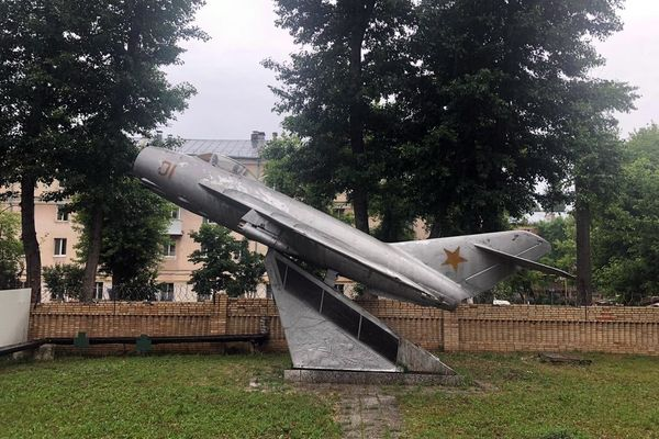 В Самаре предложили перенести памятник самолету МиГ-17 в город | CityTraffic